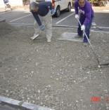 駐車場の改修工事をいたしました!