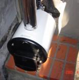 薪(まき)の風呂釜を修理・入れ替えいたしました!